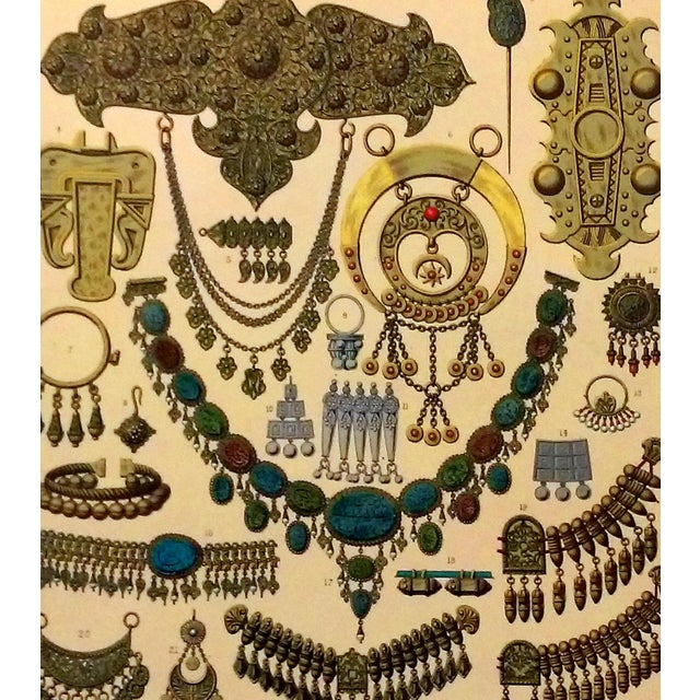 1888 Jewelry of Ancient Asia Lithograph - Image 7 of 7