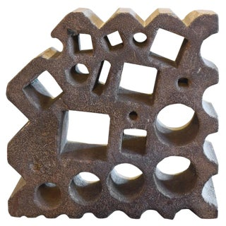 Czech Cast Iron Swage Block