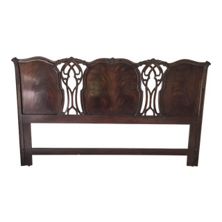 Heirlooms Heritage French Carved Mahogany Headboard