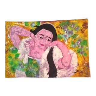 Trudi Fletcher Batik Painting
