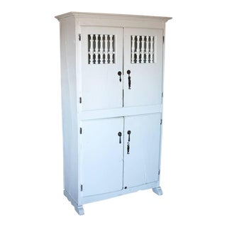 Vintage Spanish Colonial Country Cupboard
