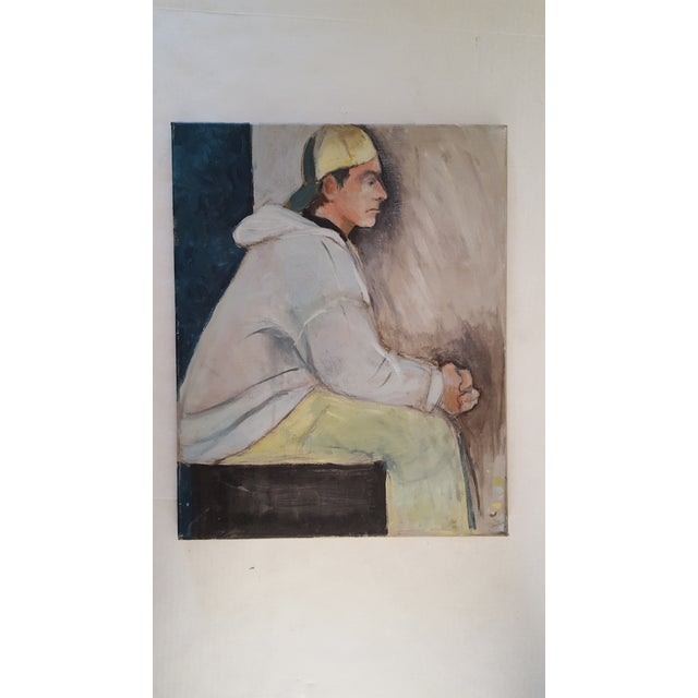 Casual Contemplation Painting - Image 2 of 3