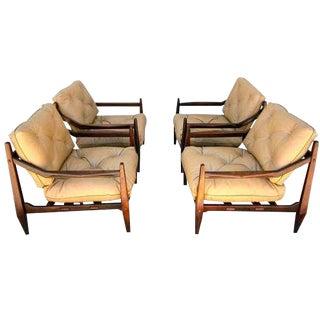 Jean Gillon Brazilian Jacaranda Chairs - Set of 4