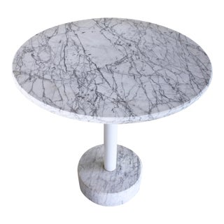 Mid-Century Modern Italian Marble Brancusi Style Side Table