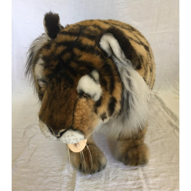 Vintage Nordstrom's Advertising Display Life Sized Plush Tiger - Image 7 of 11