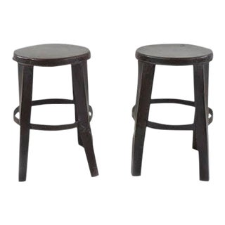 Iron Work Stool