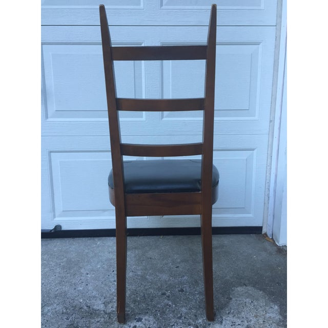 Mid-Century Ladder Back Side Chair - Image 5 of 10