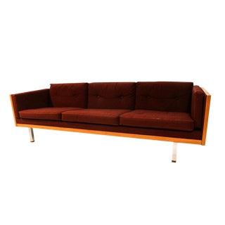 Jydsk Danish Modern Teak Case Sofa