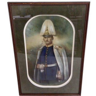 1900s Bavarian Officer Photograph