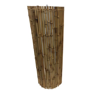 Balinese Bamboo Wall Sconce
