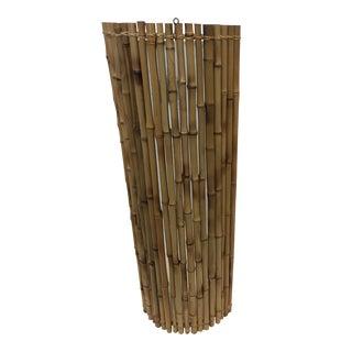 Balinese Bamboo Wall Sconce