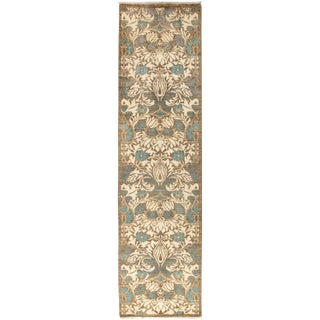 """Suzani Hand Knotted Runner - 2'7"""" X 10'1"""""""