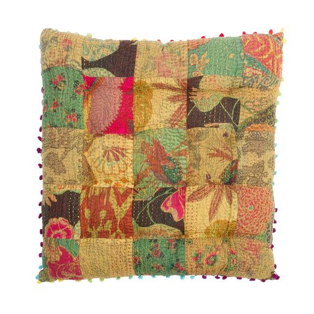 Boho Chic Floor Cushion - Image 1 of 3