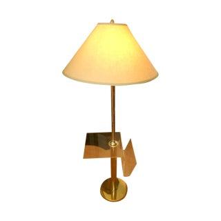 Mid Century Modern Lucite Table Floor Lamp