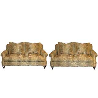 Edward Ferrell Signed Loveseats - A Pair