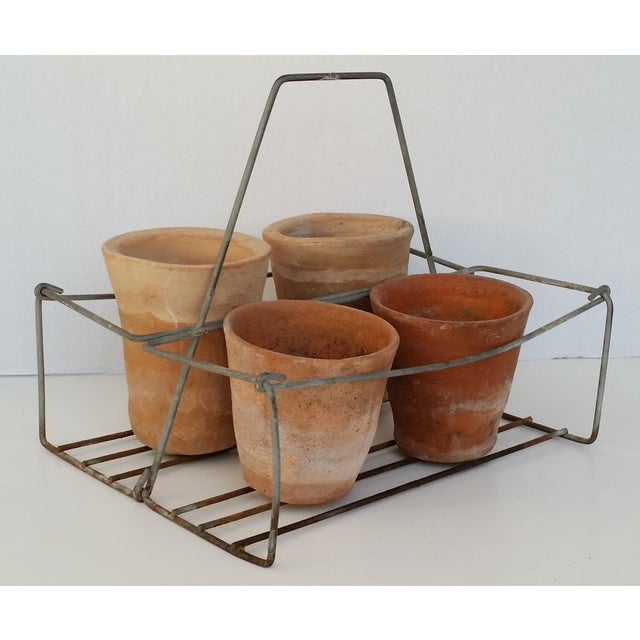 Vintage Metal Wire Caddy - Image 5 of 5