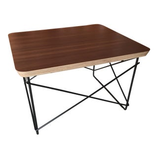 Eames LTR With Walnut Top by Herman Miller