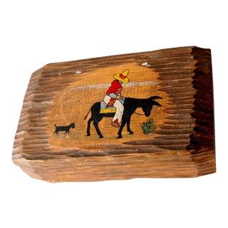 Circa 1950 Mexican Wooden Box