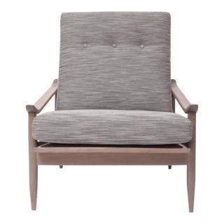 """Greige"" Walnut Lounge Chair by Milo Baughman for Thayer Coggin"
