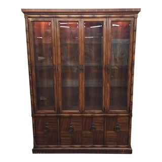"Vintage Heritage Wooden ""Bamboo"" Hutch"