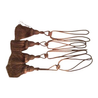 Gold Tassel Tiebacks - Set of 4