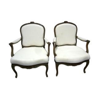 Swedish Rococo Armchairs - Pair