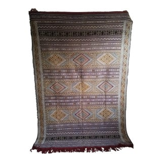 Hand Dyed Moroccan Wool Rug