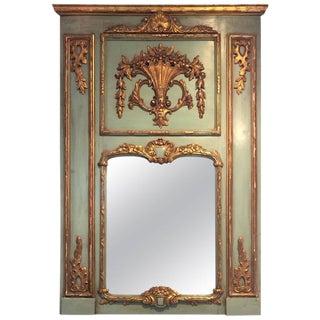 19th Century French Trumeau Mirror