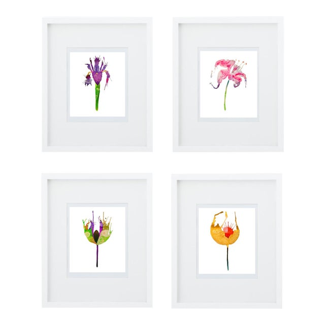 Botanical Art Print Grouping - Set of 4 - Image 1 of 6