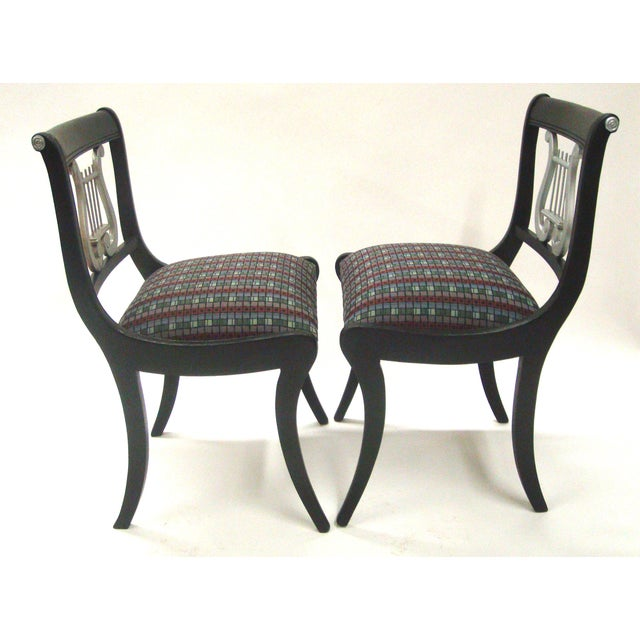 Mid-Century Harp Back Dining Chairs - Set of 3 - Image 7 of 8