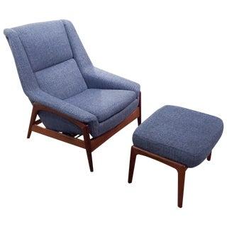 Milo Baughman for Thayer Coggin Chair & Ottoman