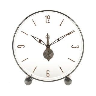 Lecoultre Swiss 1930s Art Deco 16 Jewels Mystery Clock