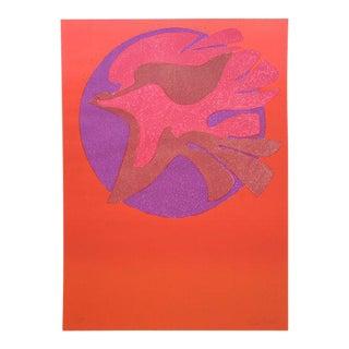 Pedro Coronel LItho 85-100 Dove, Untitled