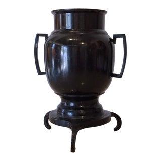 Japanese Style Bronze Ikebana Vase