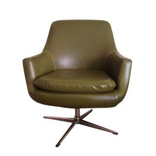Mid-Century Modern Swivel Arm Chair