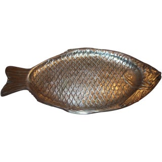 Reed & Barton Vintage Silverplate Salmon Fish Tray