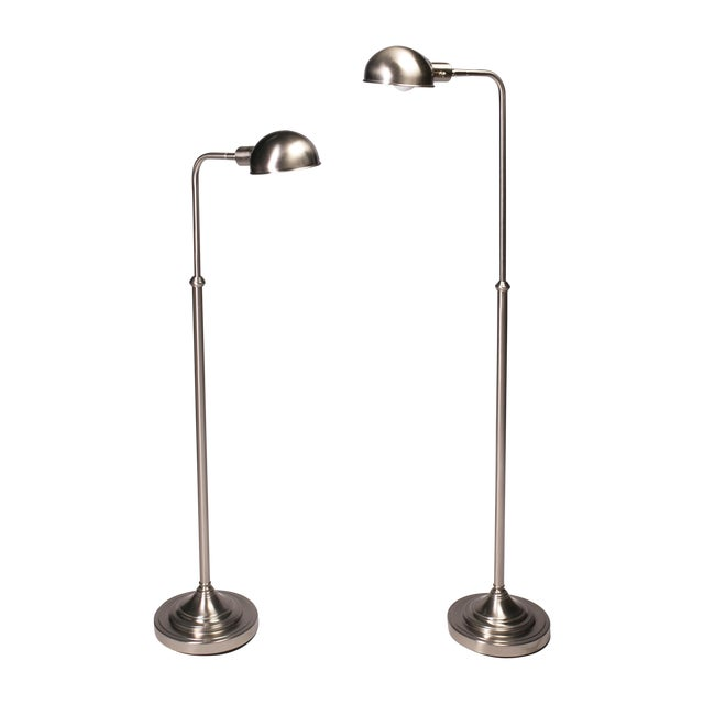 Pharmacy Floor Lamps - A Pair - Image 1 of 5
