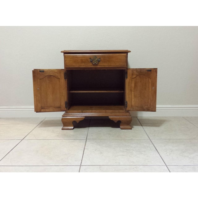Ethan Allen Traditional Style Nightstand - Image 5 of 9