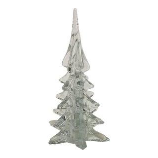 Vintage Glass Christmas Tree