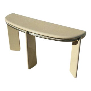 1980's Institute of Design Entry Table Console