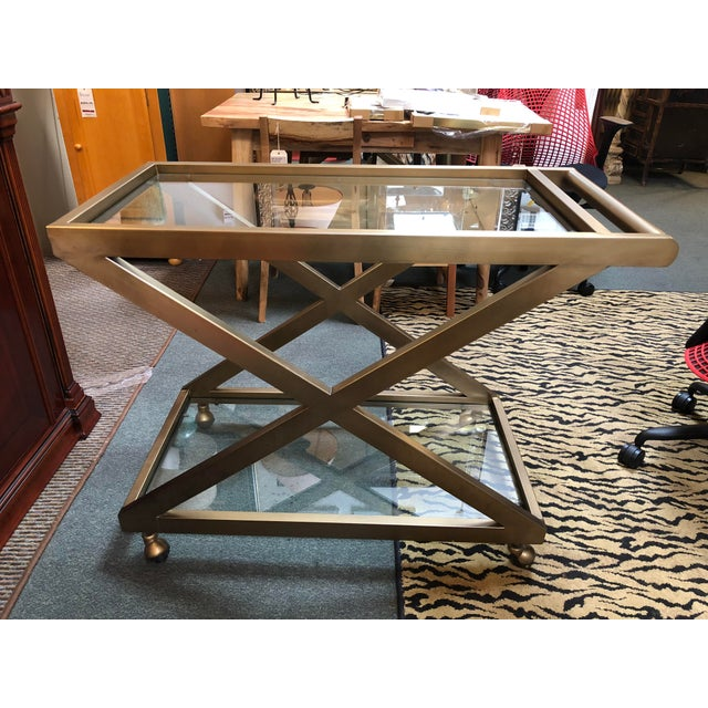 Restoration Hardware Milo Bar Cart - Image 11 of 11