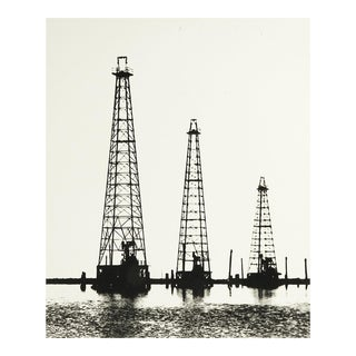 Oil Derricks Photograph