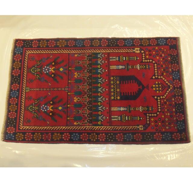 Image of Baluch Wool Rug - 3' x 5'