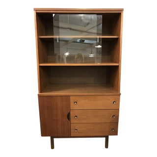 Stanley Mid-Century Modern China Cabinet