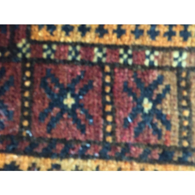 Balluchi Persian Rug - 1′10″ × 1′10″ - Image 8 of 8