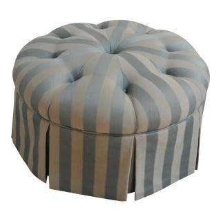 Tufted Round Ottoman