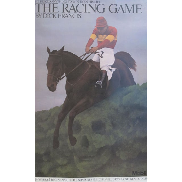 Vintage American Horse Racing Poster C 1979 - Image 1 of 2
