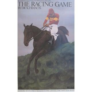 Vintage American Horse Racing Poster C 1979