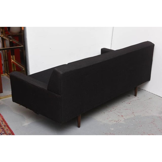 Image of Original Selig Sofa in Wool and Teak, 1960s, USA