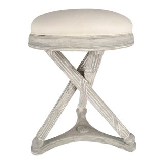 Vintage Traditional Regency Foot Stool